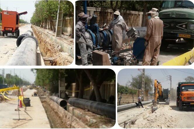 عملیات اجرایی خط انتقال پروژه آبشیرینکن بوشهر آغاز شد