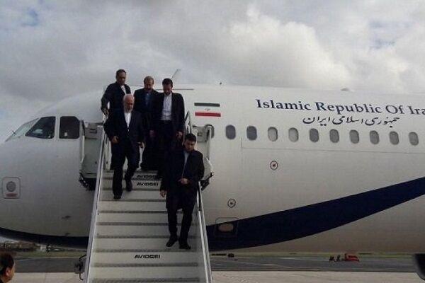ظریف در رم به منظور برقراری مجدد روابط میان ایران و ایتالیا
