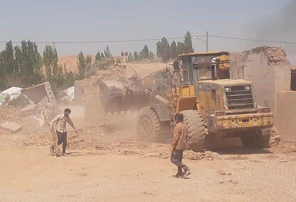 عملیات آواربرداری در منطقه زلزلهزده خراسان شمالی آغاز شد