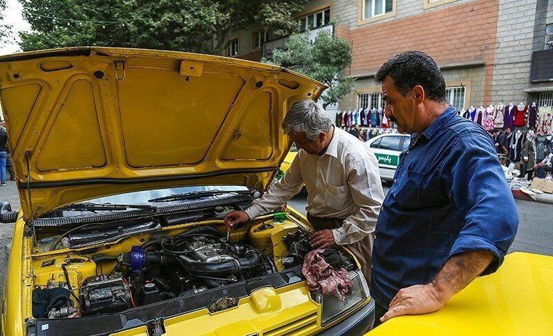 «لوازم یدکی» متهم اصلی افزایش کرایه تاکسی در قزوین | حمل و نقل هم گران شد