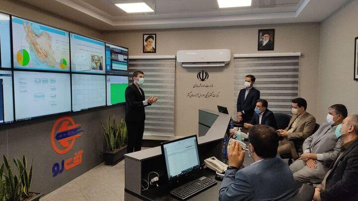 افتتاح مرکز مانیتورینگ اخذ الکترونیکی عوارض آزادراههای کشور