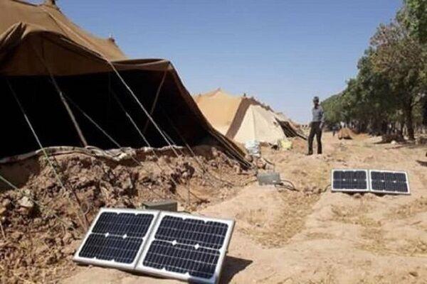 تحویل پنلهای خورشیدی تامین برق به خانوارهای عشایر همدان