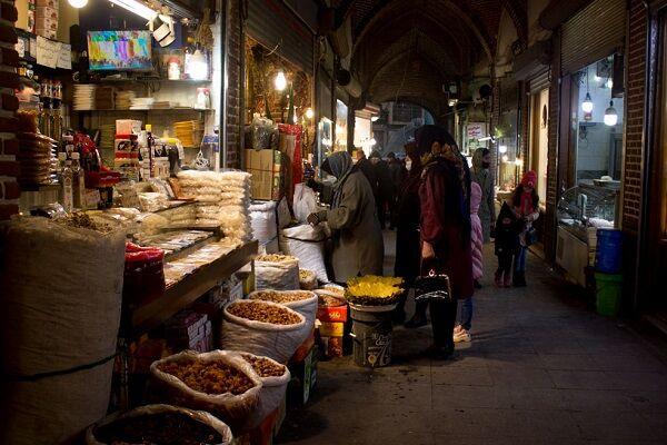 بازار «شیشهگر خانه» تبریز