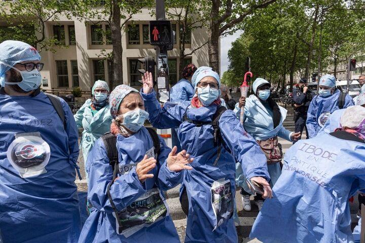 اعتراض پرستاران 12