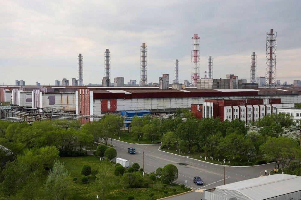 کارخانه تولید آلومینیوم