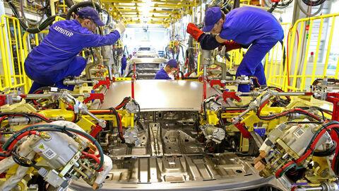 افزایش تولید صنعتی روسیه