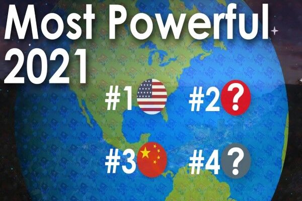قدرتمندترین کشورهای سال ۲۰۲۱