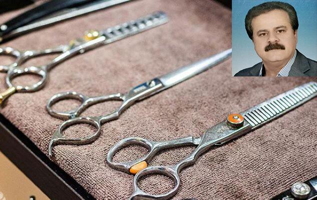 سفره آرایشگران یزدی نصف شد| مشاغل سخت با قیچی و شانه