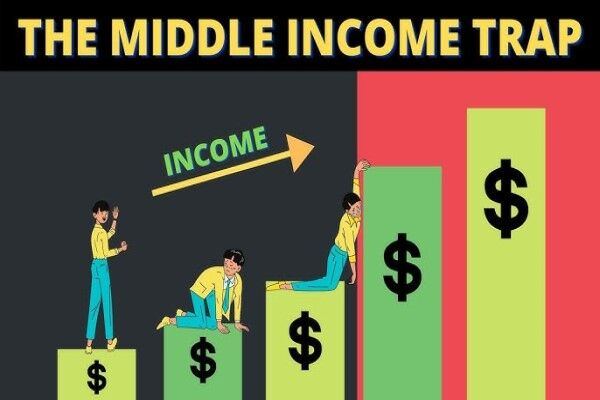 تله درآمد متوسط چیست؟