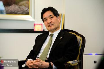 گفتگوی رسانه «بازار» با سفیر ژاپن