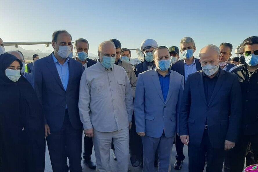 رئیس مجلس شورای اسلامی وارد ایلام شد