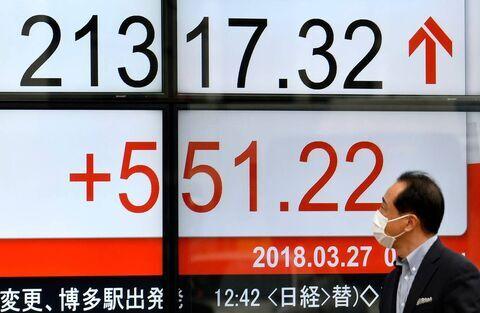 رشد در بازار سهام آسیا و اقیانوسیه