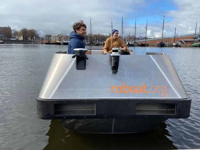 آزمایش اولین «قایق رباتیک» بر روی رودخانه آمستردام با موفقیت انجام شد