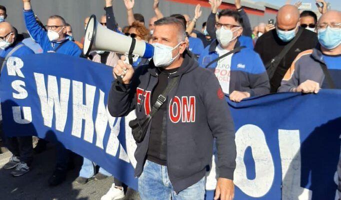 درخواست اتحادیههای کارگری در ایتالیا برای توقف اخراج کارگران