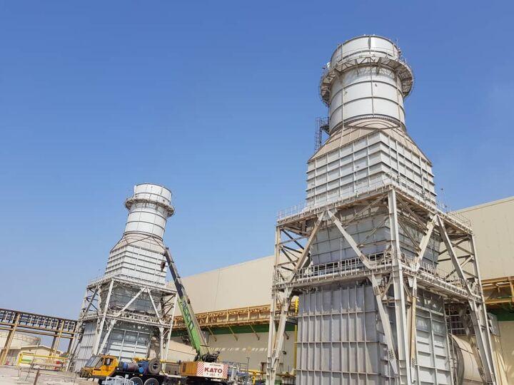 نخستین واحد گازی نیروگاه کلاس F هنگام افتتاح شد  آغاز راهاندازی دومین واحد گازی نیروگاه