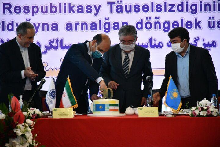 علی رغم تحریم های ظالمانه کنار ایران ایستادهایم| جایگاه ۲۵ قزاقستان در رشد تجارت