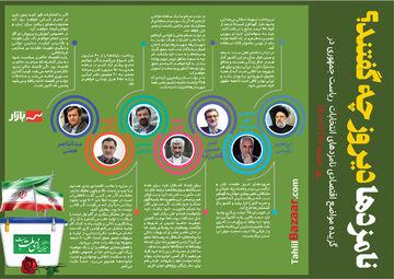 گزیده مواضع اقتصادی نامزدهای انتخابات ریاست جمهوری در جمعه ۲۱خرداد