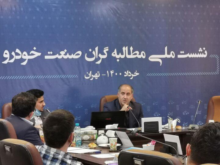 استخدام ۴۰۰ نفر در ایران خودرو در ماههای آخر دولت  مشتری نیست تولید خودرو گاز سوز را کم کردیم!
