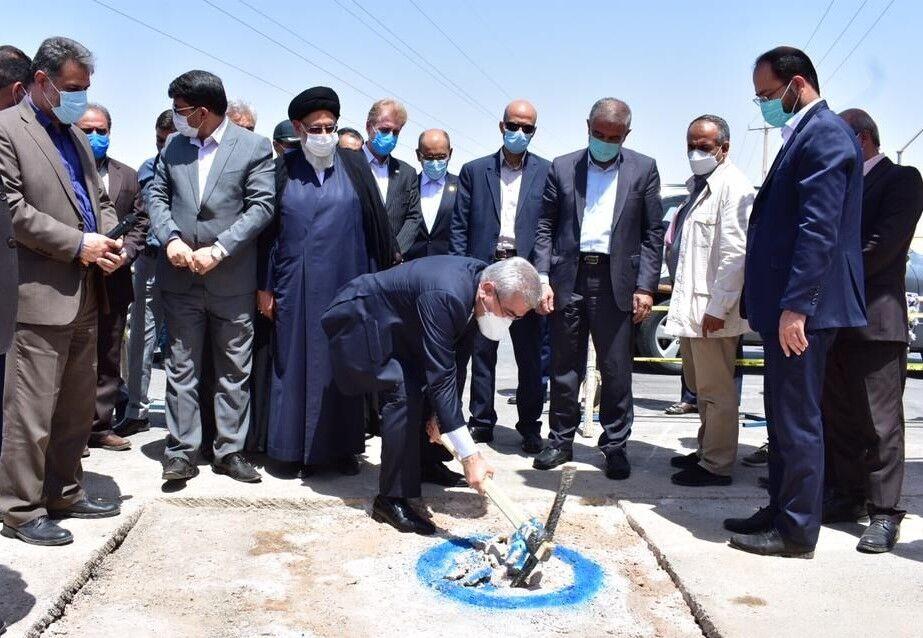 ارتقای کیفیت آب یزد با افتتاح رینگ آب شهری