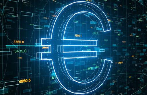 تبدیل ۸ درصد از سپرده مشتری بانکهای منطقه یورو به یوروی دیجیتال
