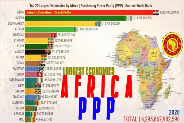 ۲۰ اقتصاد برتر قاره آفریقا