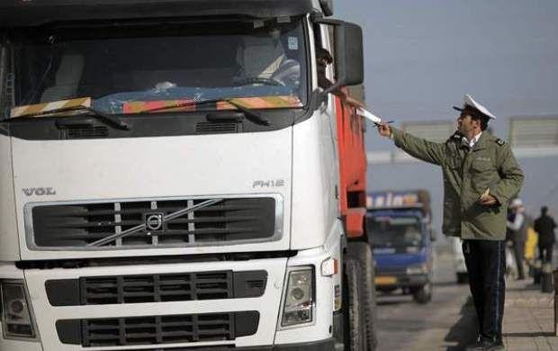 ممنوعیت تردد خودروهای سنگین در ۲۸ و ۲۹ خرداد