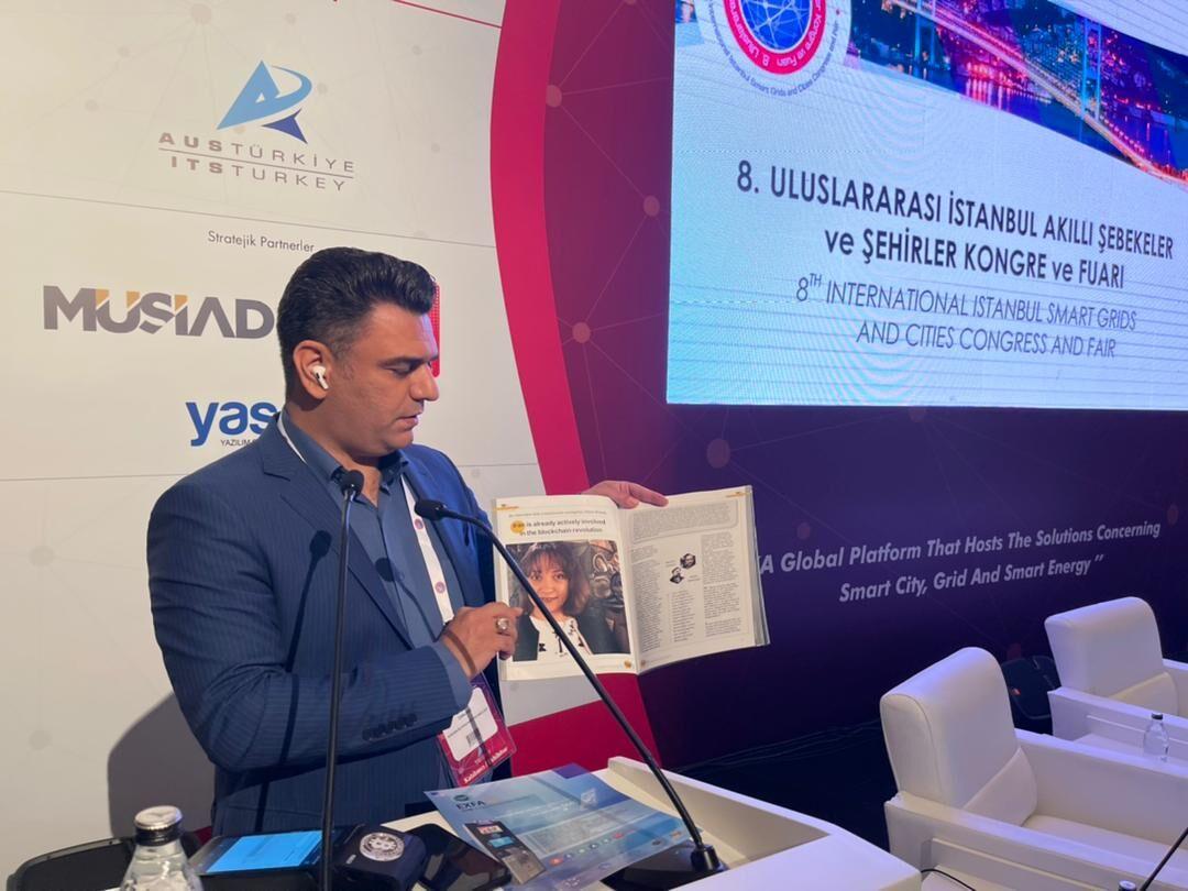 معرفی اولین نشریه اختصاصی رمز ارز و بلاکچین خاورمیانه در نمایشگاه هوشمند