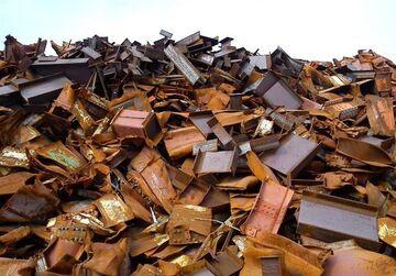 قیمت آهن آلات در حال کاهش است  کاهش واردات قراضه آهن
