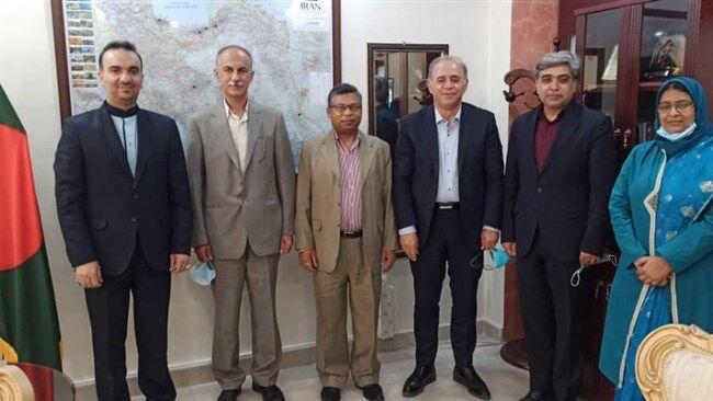 ظرفیتهای همکاری و سرمایهگذاری مشترک ایران و بنگلادش بررسی شد