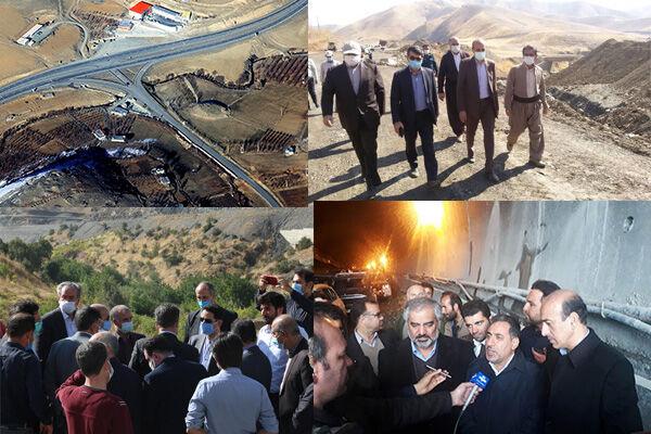 افتتاح پروژههای ناتمام در وقتهای اضافه| از سنندج تا مریوان ۲۰ سال فاصله است!