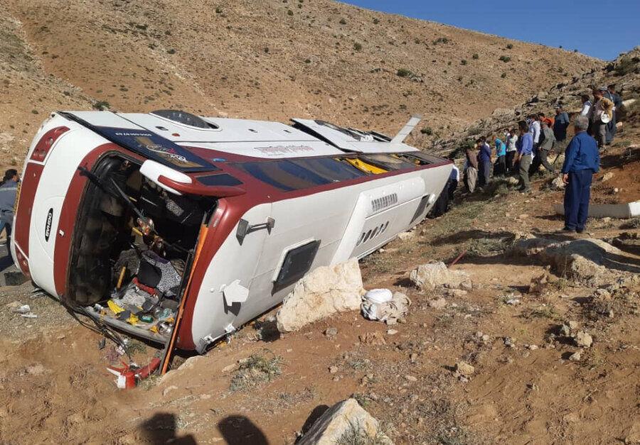 آیا دلیل اصلی واژگونی اتوبوس خبرنگاران و معلمان لنت ترمز بوده است؟
