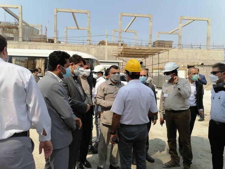 مشکلات کارکنان و کارگران صنعت نفت در پارس جنوبی بررسی شد