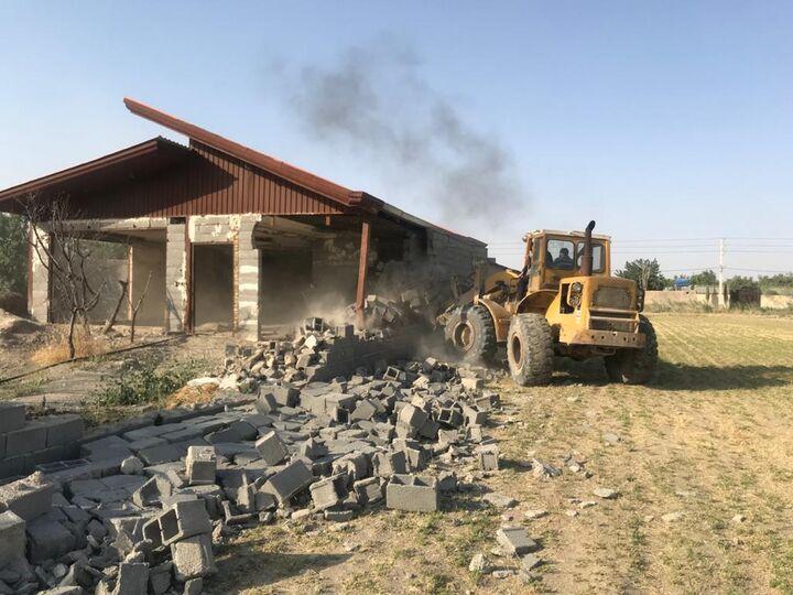 ۲۵ هکتار از اراضی تغییر کاربری داده شده در مشهد آزادسازی شد