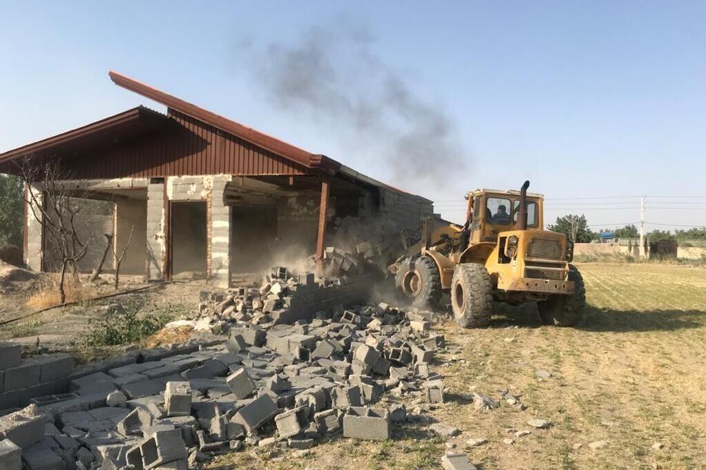 آزادسازی ۵۵۰ هکتار از اراضی کرج