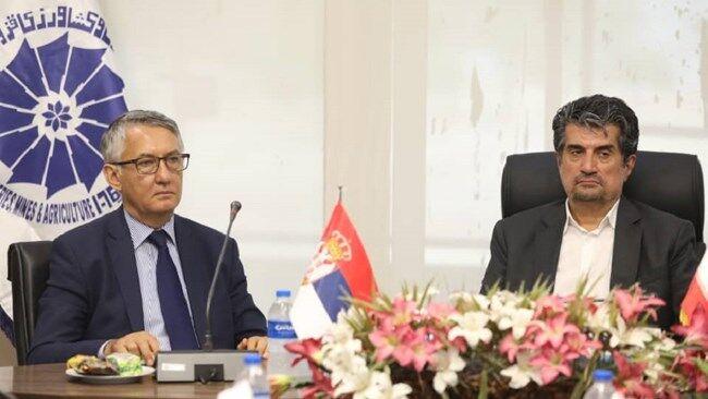 روابط ایران و صربستان در حوزههای کشاورزی و گردشگری توسعه یابد