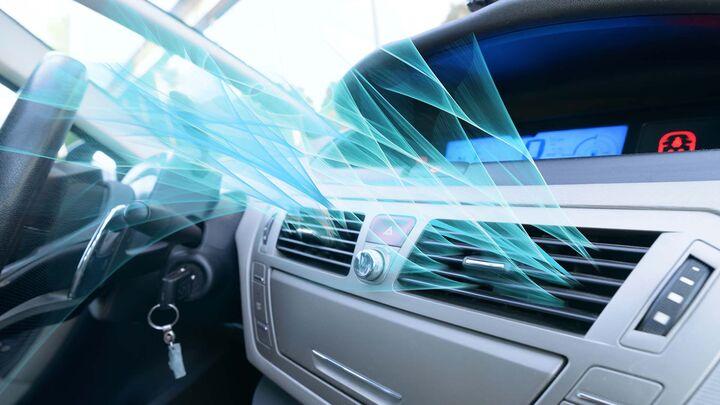 کولر خودرو را در حالت توقف روشن کنید  نکاتی در خصوص نگهداری از سیستم تهویه مطبوع