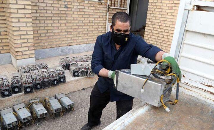 شناسایی و جمعآوری ۱۰ مزرعه غیر مجاز رمزارز در تهران