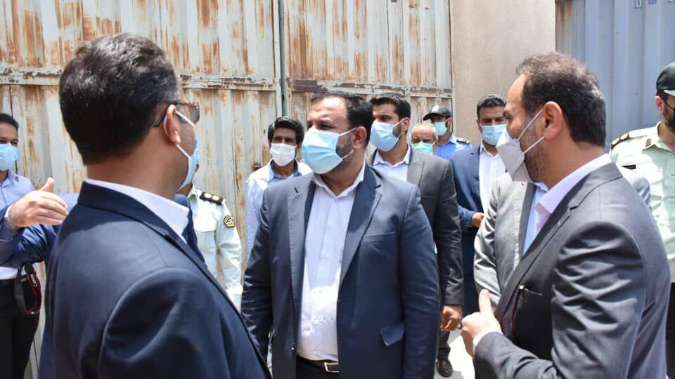 ترخیص ۳ هزار کانتینر حامل اقلام مورد نیاز صنایع تولیدی در بندر شهید باهنر