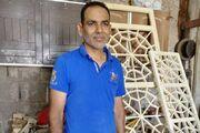 عدم استقرار تولیدکنندگان صنایع دستی خرمشهر در یک محل دائمی/ کالای چینی وارد نشود