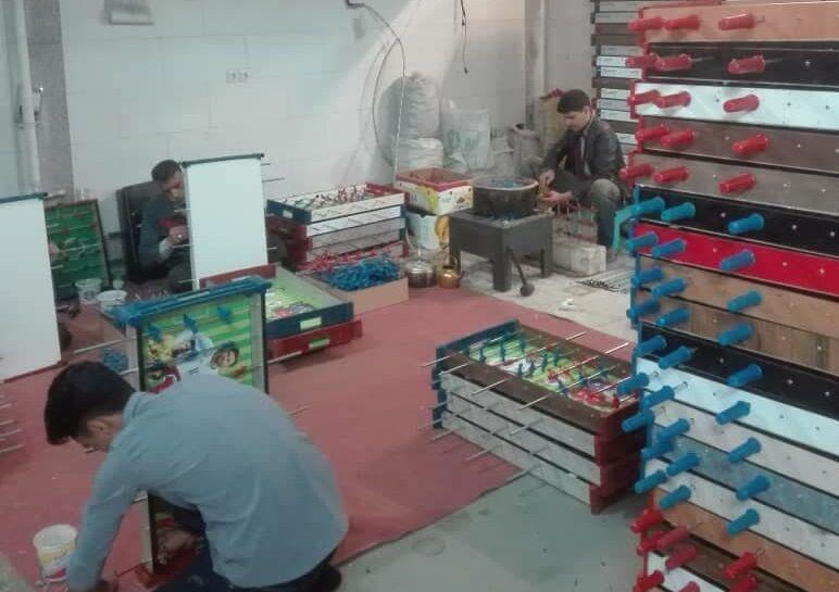 «گرانی» صنعت اسباببازی را به بازی گرفته است؛ توپ مشکلات پیش پای تولیدکنندگان فوتبال دستی