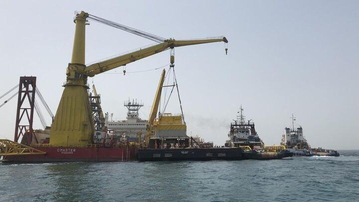 افتتاح فاز نخست طرح راهبردی انتقال نفت خام گوره به جاسک