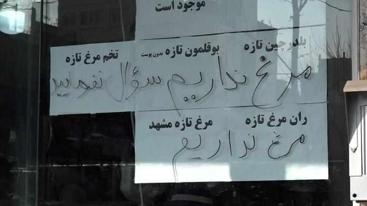 بازار مرغ همدان؛ هیجانات کاذب یا سوء مدیریت| صف مرغ همچنان پابرجاست