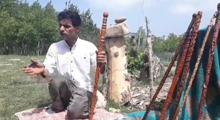 صنایع دستی صادراتی اما فراموش شده در مازندران