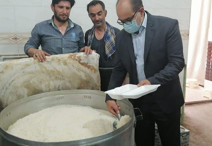 طبخ و توزیع ۳۰۰هزار پرس غذا در عید غدیر