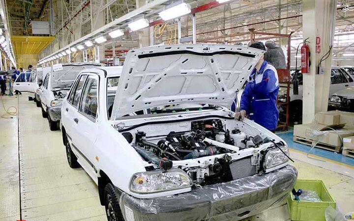تولید خودروسازان از مرز ۳۴۵ هزار دستگاه گذشت