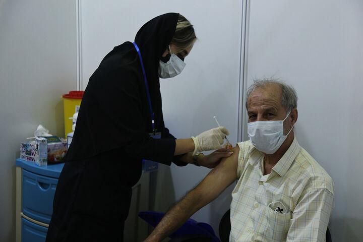 واکسیناسیون در فرهنگسرای اشراق