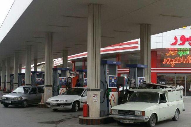 پمپ بنزین های مازندران در معرض ورشکستگی