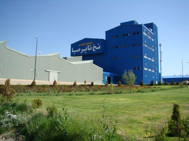 ساخت فاز نخست استیل کورد نخ تایر در زنجان آغاز شد