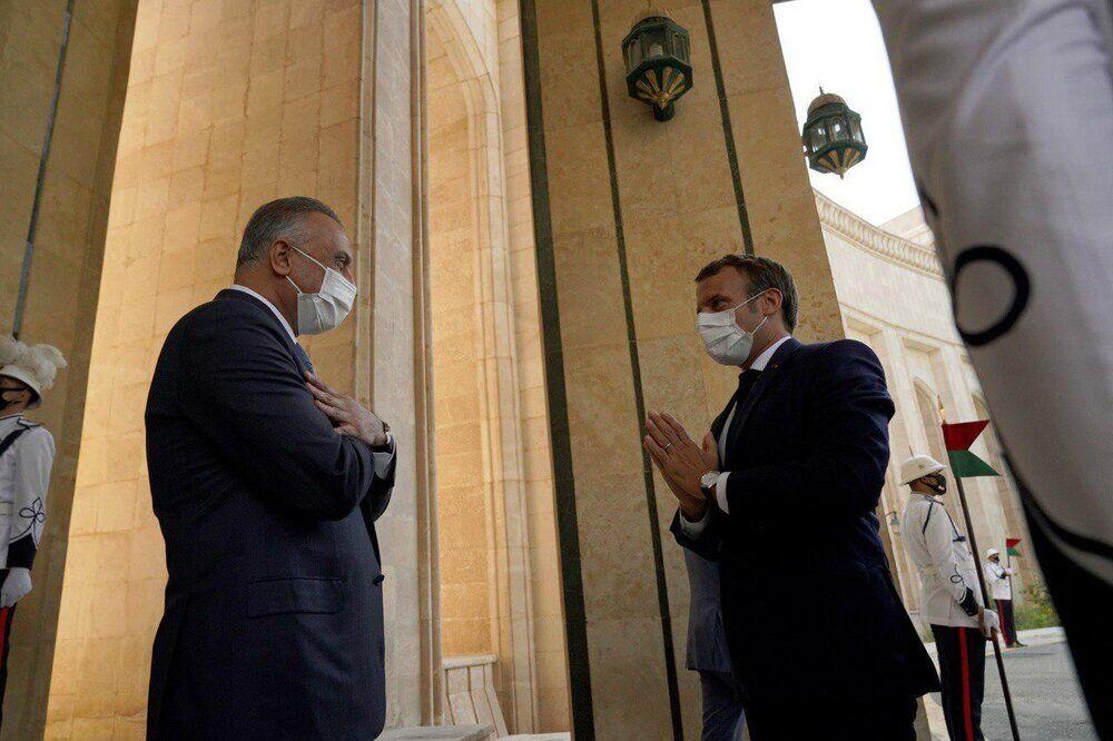 تنها در بیابان؛ رهبری اروپایی فرانسه در خاورمیانه| بهره پاریس از توافقات گسترده اقتصادی با بغداد