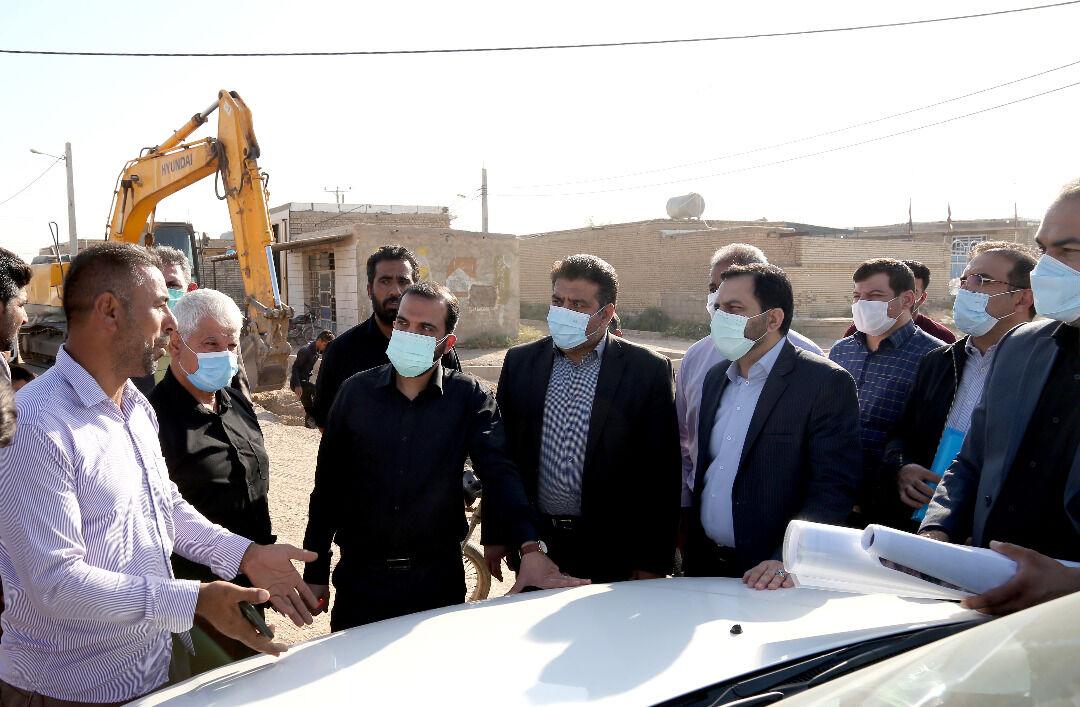 آبرسانی به ۷۰۲ روستای خوزستان با اعتبار یک هزار میلیارد ریال